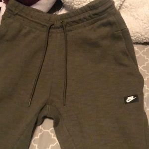 Nike Green Sweat Pants